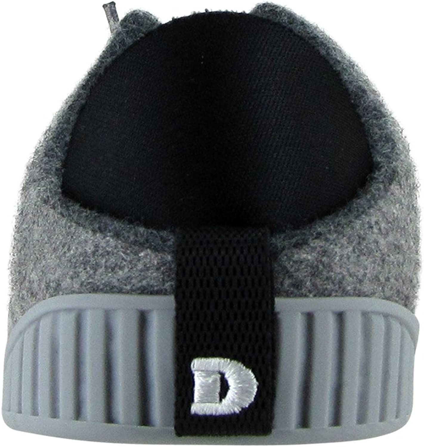 Dualyz Fit Unisex 100/% Wool Slipper Shoe with Removable Sole