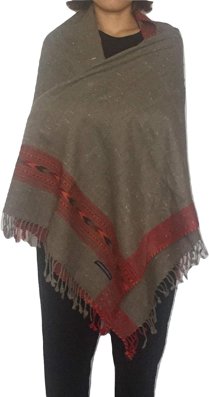 Himalayan Collective Womens or Mens Kullu Style Wool Wrap Parent
