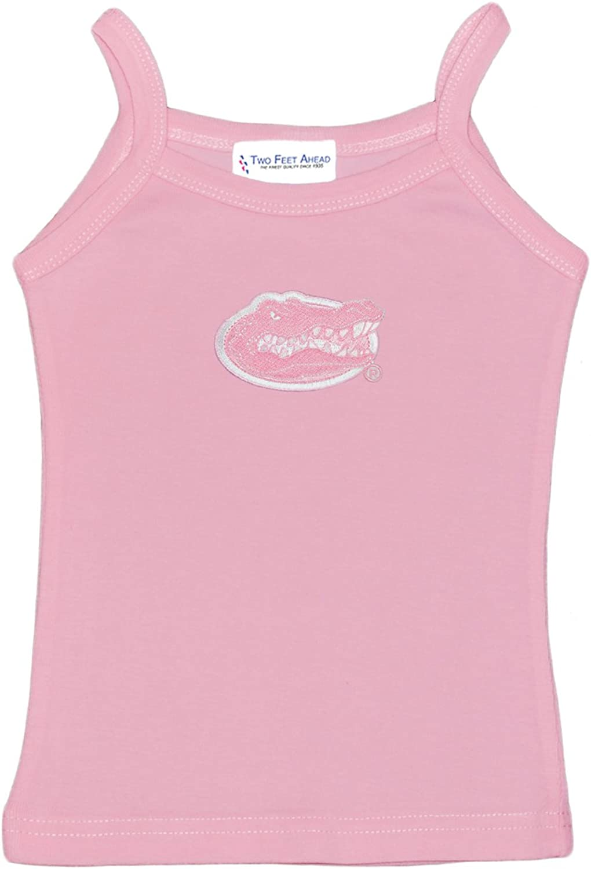 Florida Gators Girls Spaghetti Top - Size Medium (7) - Light Pink