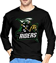 Rohan Riders Team Logo Men`s Classic Long-Sleeve T-Shirt Crew Neck T-Shirt Cotton Tee