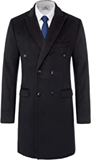 Best mens double breasted long overcoat Reviews