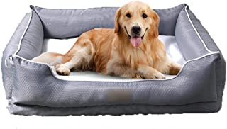Dog Beds & Furniture Pet bed large dog washable small dog Teddy dog kennel pet bed cat litter four seasons universal non-s...