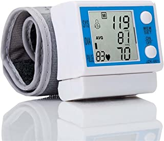 LPY-Fully Automatic Wrist Digital Blood Pressure Monitor With Heart Rate Detection IHB Indicator And Memory Recall Accurate Measurement For Home Use Doctor recognized