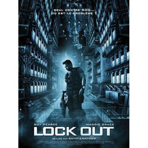 Affiche Cinéma Originale Grand Format - Lock Out (format 120 x 160 cm pliée)