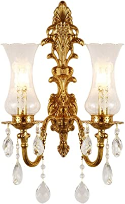 Diamond Life 2 Light Chrome Finish Wall Sconce Lights Chandelier Wall Lamp with Crystal Shade W11