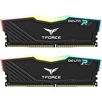 Team T-Force Delta RGB 16GB (2 x 8GB) PC4-24000 3000MHz DDR4 288-Pin DIMM Desktop Memory