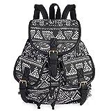 Vbiger Damen Rucksack Damen Daypack Backpack Canvas Rucksack Vintage Rucksack Schulrucksack mit...