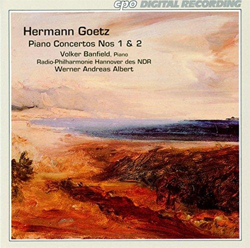 ゲッツ:ピアノ協奏曲 第1番/同第2番/序曲