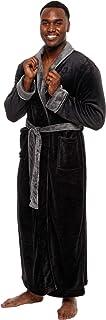 Ross Michaels Men's Big and Tall Full Length Long Bathrobe House Coat Pajamas
