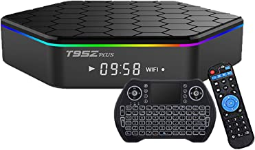 EASYTONE T95Z Plus Android TV Box 3GB 32GB,Android 7.1 TV Box Amlogic Octa-Core,Dual-Band Wi-Fi 2.4/5.8G Smart Boxes Andro...
