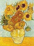 1art1 50713 Vincent Van Gogh - Stillleben Mit Sonnenblumen,