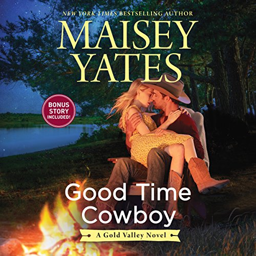 Good Time Cowboy audiobook cover art