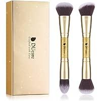 2 Piece DUcare Makeup Brushes Duo End Foundation Powder Buffer & Contour