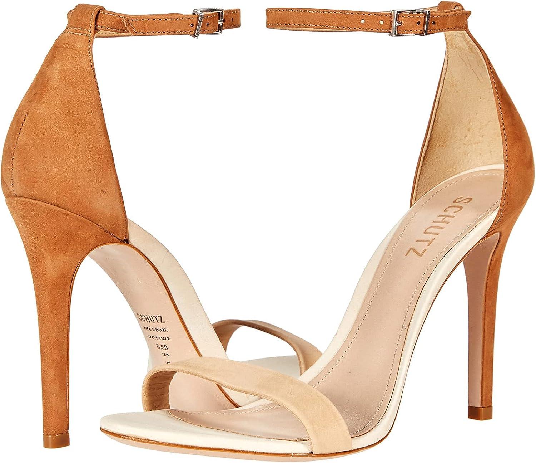 half Schutz Women's Cadey-Lee Denver Mall High Heel Dress Sandal