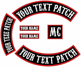 custom side rocker patches