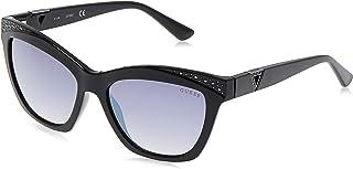 Guess Cat Eye Women'S Sunglasses - Gu7479-56-17-140Mm, 140 mm Black