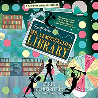 Escape from Mr. Lemoncello's Library                   By:                                                                                                                                 Chris Grabenstein                               Narrated by:                                                                                                                                 Jesse Bernstein                      Length: 6 hrs and 19 mins     1,391 ratings     Overall 4.5