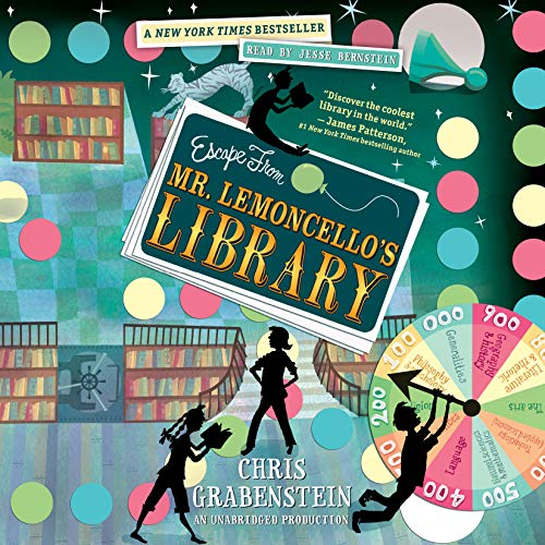 Escape from Mr. Lemoncello's Library audiobook cover art