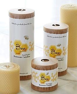 Hand Rolled Beeswax Pillar Candles (Pillar Bundle)