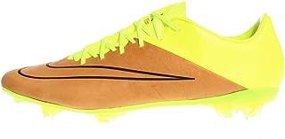Mercurial Vapor X LTHR FG Football Boots Brown/neon/Black