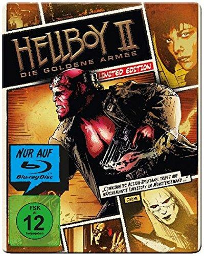 Hellboy II Die goldene Armee - Limited Steelbook Edition [Blu-ray]