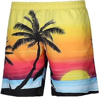 Hombre Traje de Baño Verano Shorts de Playa Hawai Estampado de Playa Shorts Traje de Baño de Secado Rápido