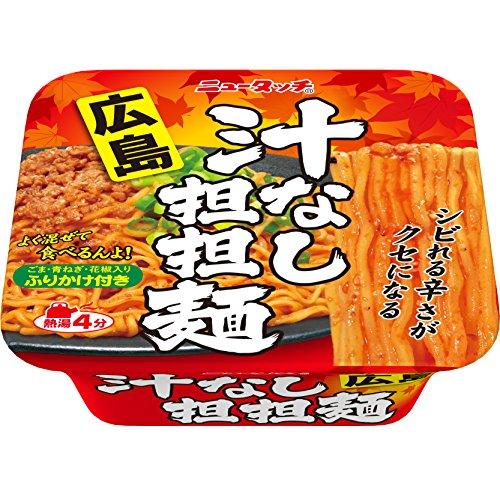 ヤマダイ ニュータッチ 広島汁なし坦々麺 3個