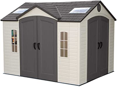 LIFETIME 10 FT. X 8 FT. OUTDOOR STORAGE SHED (Model 60001)