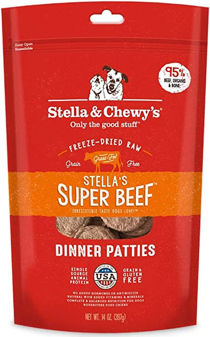 Stella and Chewys Freeze-Dried Raw Dinner Patties | Chewy