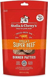 Stella & Chewy's Freeze-Dried Raw Stella's Super Beef Dinner Patties Grain-Free Dog Food, 14 oz. Bag