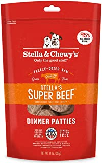 Stella & Chewy's Freeze-Dried Raw Stella's Super Beef Dinner Patties Grain-Free Dog Food