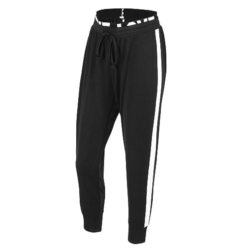 ee26487e03 EUFANCE Mujeres Jogger Deportes Pantalones Casuales Acogedor sesión de  Ejercicios de Yoga Capri Jogging Pantalones de
