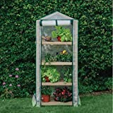 Grow It Premium 4 Tier Wooden Growhouse Greenhouse Grow Zone