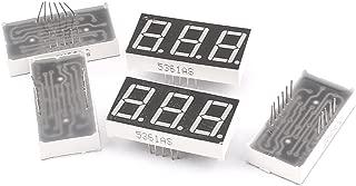 5 ánodo común 10 Pin 1 bit Rojo Pantalla Led Digital Tubo 70x48x12mm