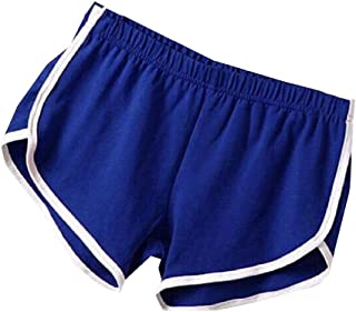 Energy Women's Yoga Elastic Waist Stripe Beachwear Shorts Beach Pants