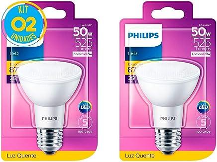 Lâmpada Led Par20 Luz Quente 6.5W Philips (02 Unidades)