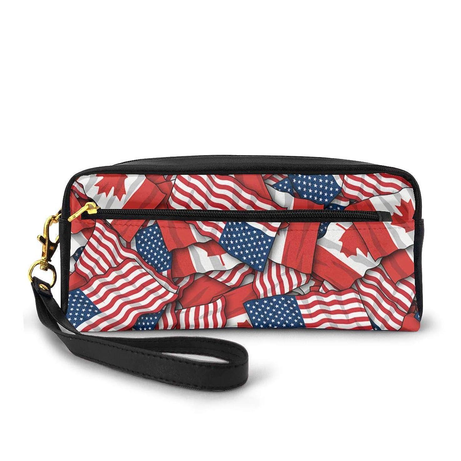 運動するランドマークカーテン化粧品収納バッグ ウォッシュバッグ ハンドバッグ 化粧品袋 耐久性のある 筆箱 トラベルバッグ カラフルなス ポータブル スキンケア製品収納袋