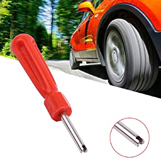 Cestval Valve Core Remover Tire Installer Repair Tool Double Head Valve Remover for Automotive Air Conditioning Refrigeration