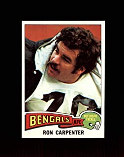 1975 Topps Football #197 Ron Carpenter STARX 8.5 NM/MT+ CS56284