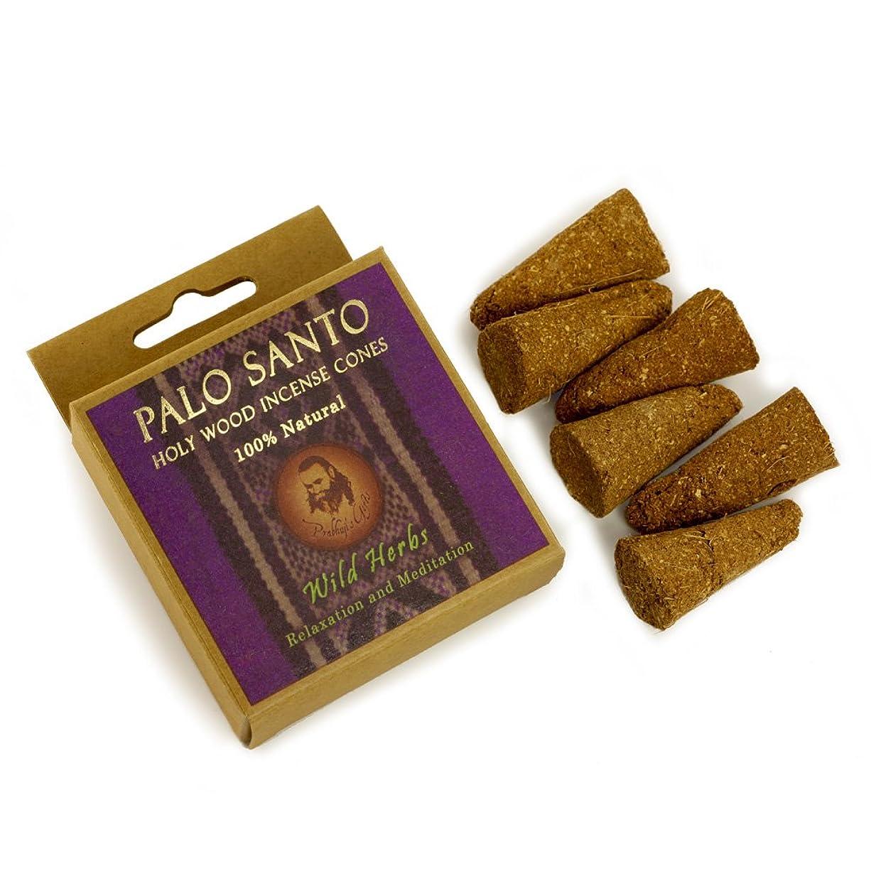 ウナギいま旅Palo Santo and Wild herbs?–?Relaxation &瞑想?–?6?Incense Cones