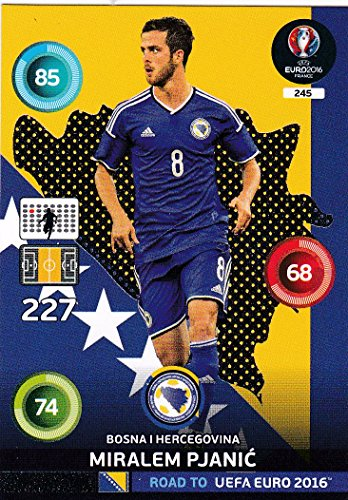 Panini Adrenalyn XL Road To UEFA Euro - 2016 Miralem Pjanic One pour montre