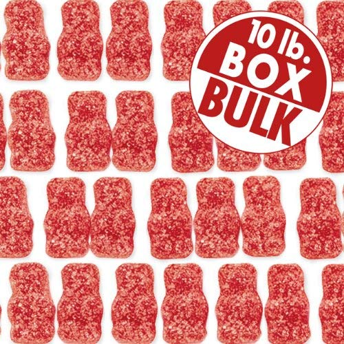 Jelly Belly Unbearably Hot Cinnamon Bears - 10 lbs of Loose Bulk Gummi Bears - Genuine, Official, Straight from the Source
