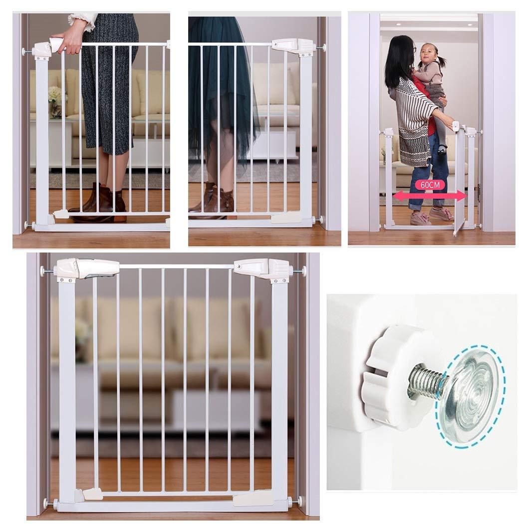 Puerta De Bebé Barandas de escaleras for bebés Expansión infantil Reja de seguridad for niños Cerca