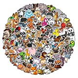 100Pcs Nature Animal Stickers for Kids, Cute Animal Stickers Decals for Laptop Water Bottles Bike Skateboard Luggage Computer Hydro Flask Toy Phone Snowboard