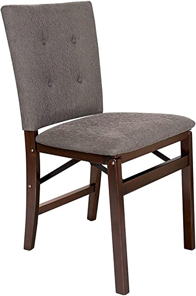 Stakmore Parson S Folding Chair Finish Set Of 2 Espresso