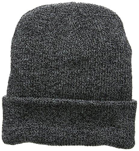 Beechfield B425.QGR Heritage Bonnet Mixte, Noir, Taille Unique