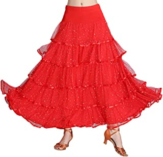 75d14bea417ced Amazon.fr : jupe flamenco - Rouge : Vêtements