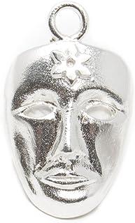 Marrocu Gioielli - Ciondolo argento maschera Sartiglia