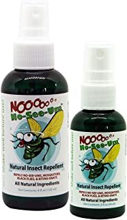No No-See-Um Natural Insect Repellent Combo - (1) 2oz and (1) 4oz Bottle