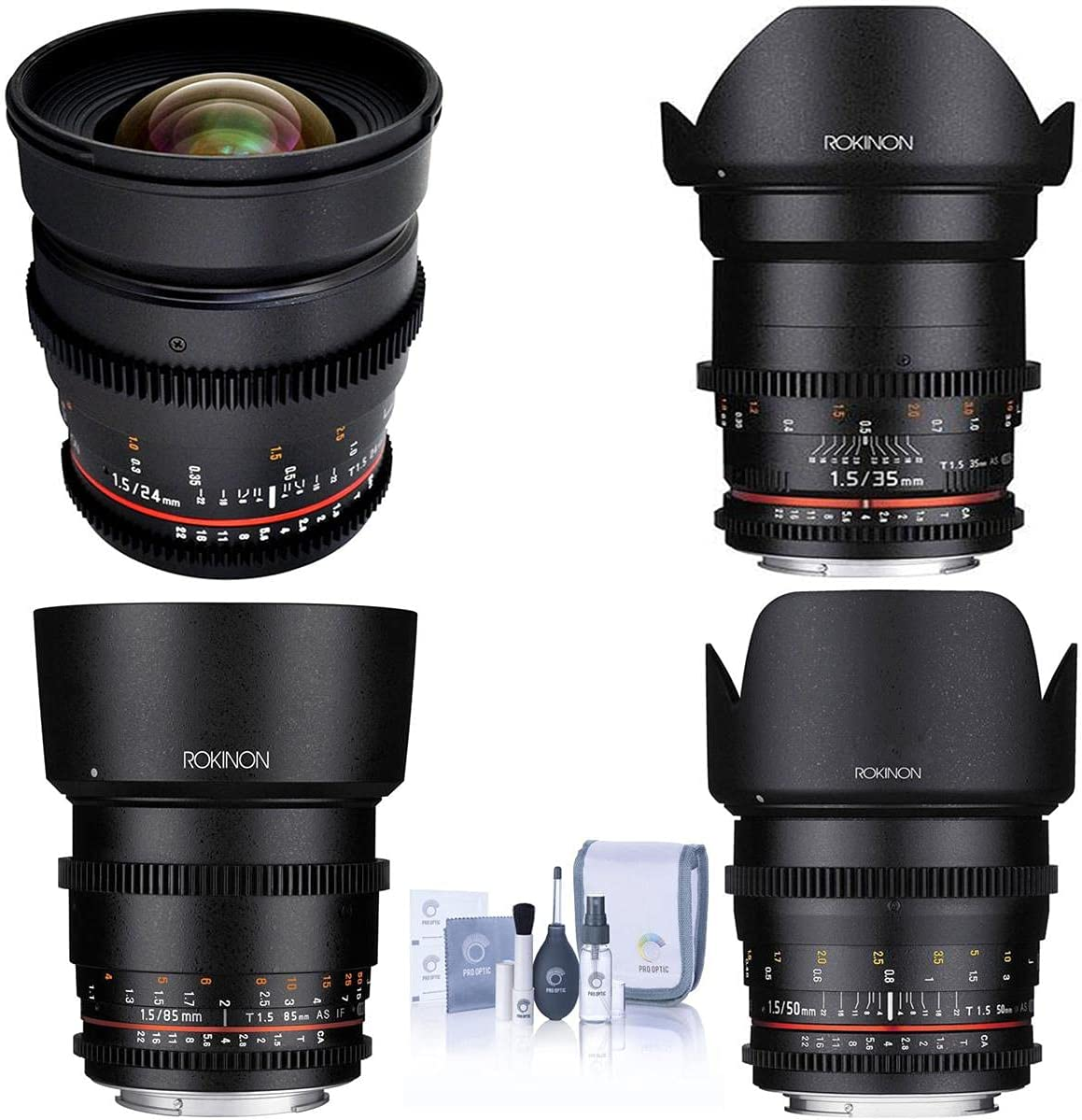 Rokinon Cine Lens Free Shipping Cheap Bargain Gift Bundle 24mm 35mm DS 50mm and Ranking TOP6 T1.5 85mm
